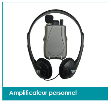 amplificateur personnel mieux entendre conference ecole