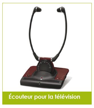 ecouteur television