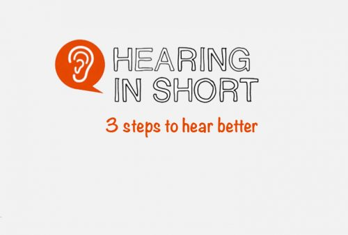 Three steps to hear better