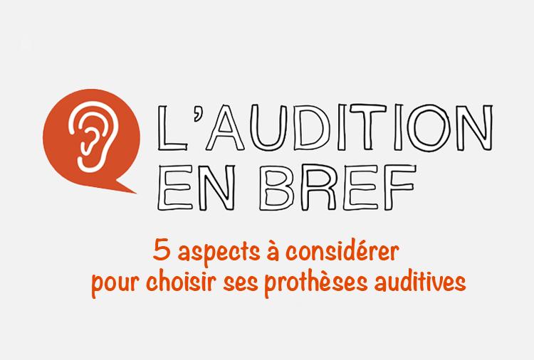 5 aspects prothèses auditives