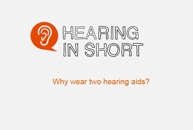 2 hearing aids