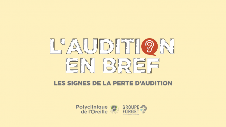 Signes de la perte auditive